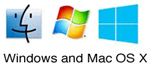 Macintosh OS X and Windows fonts